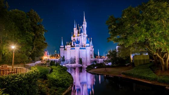 Disney World, Cinderella Castle wallpaper
