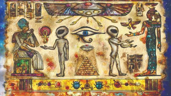 Aliens of Egypt wallpaper