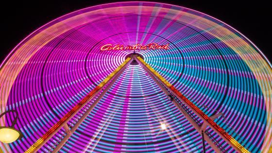 Ferris Wheel at Volksfest in Dülmen wallpaper