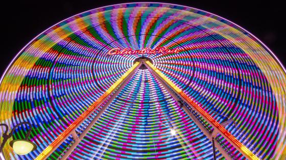 Ferris Wheel at Dülmen Volksfest wallpaper
