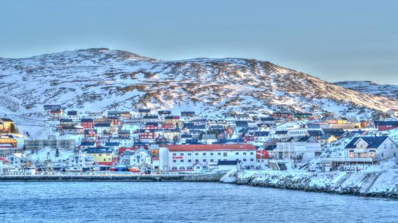 Honningsvag - the northernmost point of Europe wallpaper