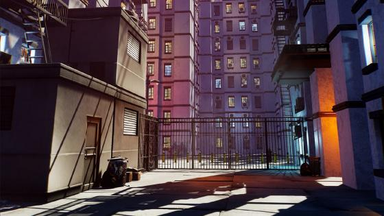 Anime Buildings wallpaper