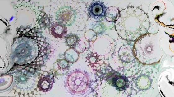 Multiple circles wallpaper