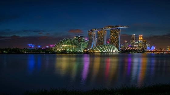 Marina Bay, Singapore wallpaper