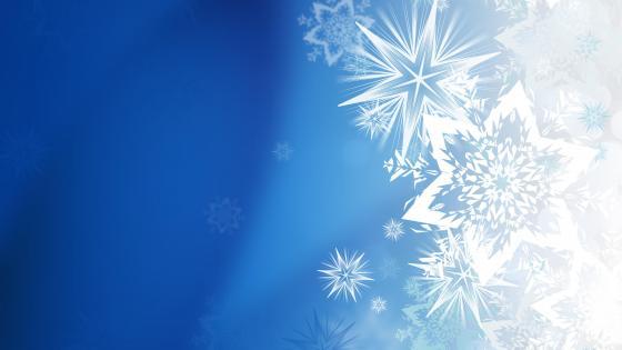 Snowflakes wallpaper