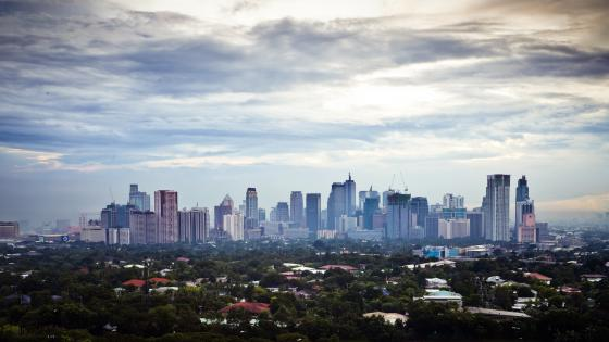 Makati Skyline wallpaper