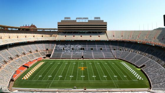 Panorama of Neyland Stadium wallpaper