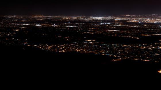 Phoenix Nighttime Cityscape wallpaper