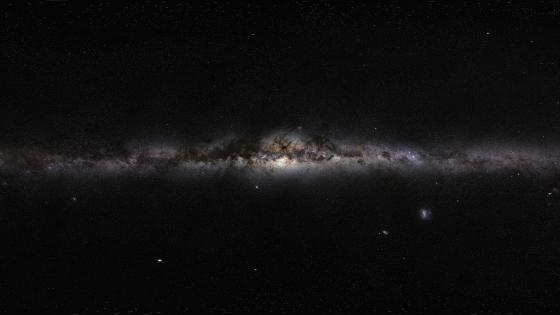 The Milky Way Panorama wallpaper
