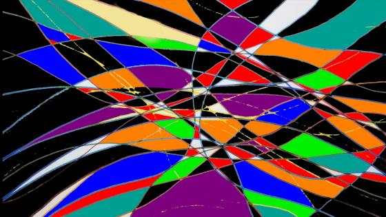effet Graphique Coloré wallpaper