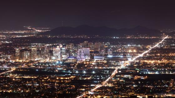 Phoenix City Lights wallpaper