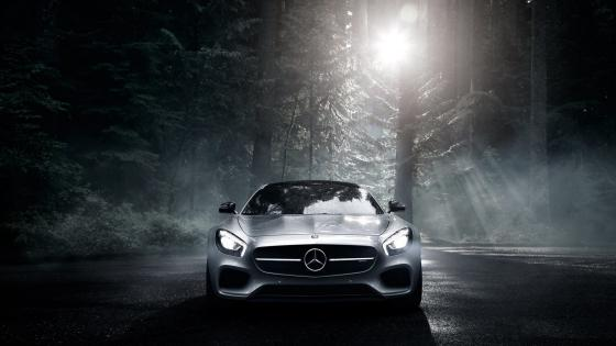 Mercedes-Amg  Front View wallpaper