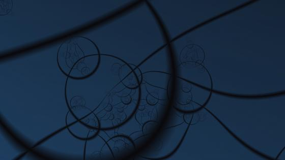 Circles and Lines wallpaper