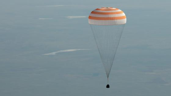 Expedition 59 Landing Aboard the Soyuz MS-11 wallpaper