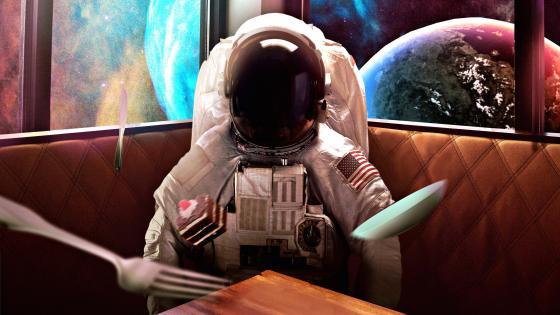 Astronaut Dream wallpaper