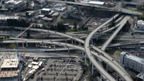 Marquam Bridge Interchange wallpaper