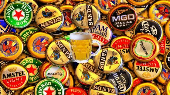 Beer Caps wallpaper