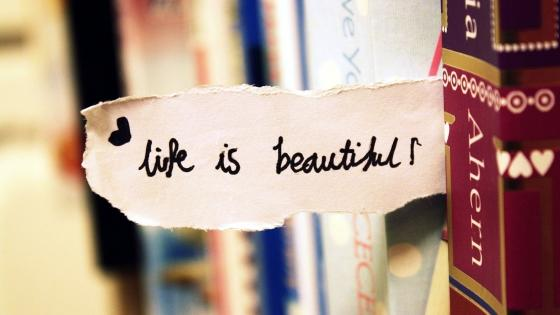 Life Is Beautiful wallpaper