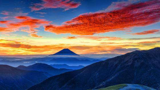 Mount Fuji Hizuoka Japan wallpaper