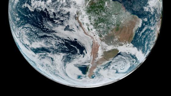 South America & the Southern Hemisphere wallpaper