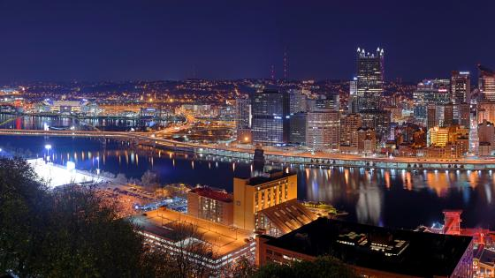 Pittsburgh Skyline wallpaper