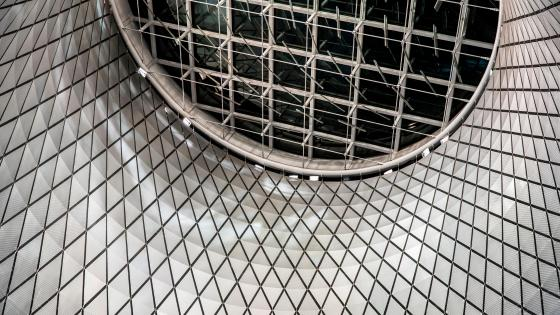 The Sky Reflector-Net at the Fulton Center wallpaper