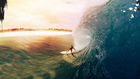 Surfer wallpaper