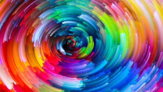 Colourful Circle wallpaper