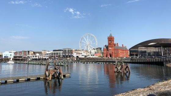 Cardiff Bay wallpaper