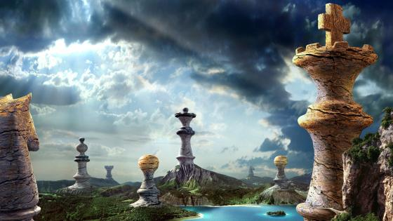 Fantasy Chess wallpaper