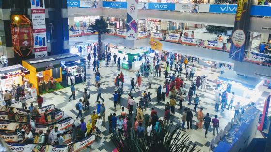 Bashundhara City Shopping Mall in Dhaka wallpaper