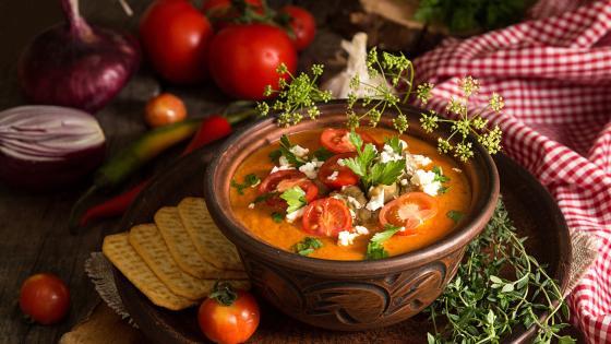 Tomato soup wallpaper