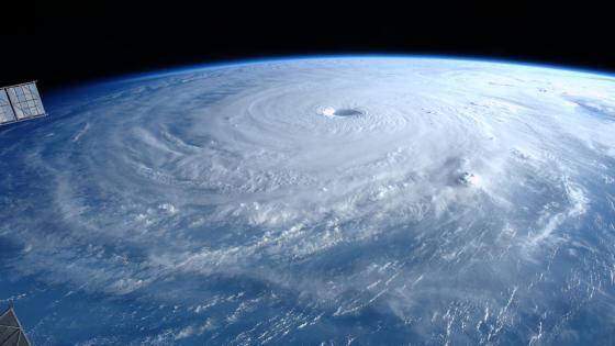 Super Typhoon Maysak wallpaper