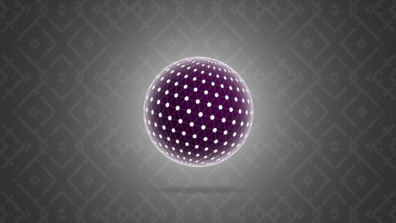 circled tesseract wallpaper