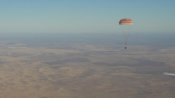 Expedition 56's Landing Aboard the Soyuz MS-08 wallpaper