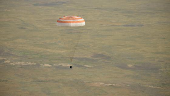 Expedition 59's Landing Aboard the Soyuz MS-11 wallpaper