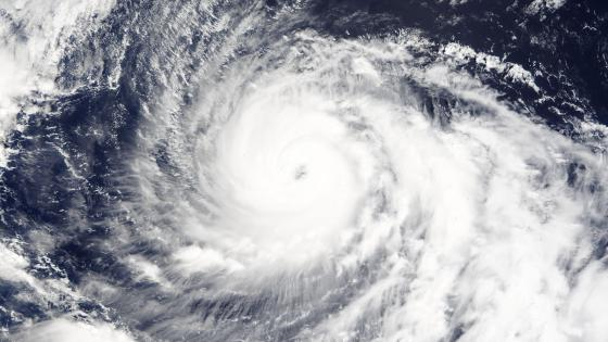 Typhoon Vongfong as a Category 3 Typhoon wallpaper