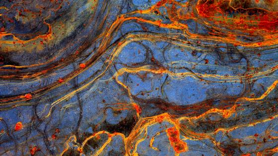 Painting Texture Formation Rust Rock wallpaper