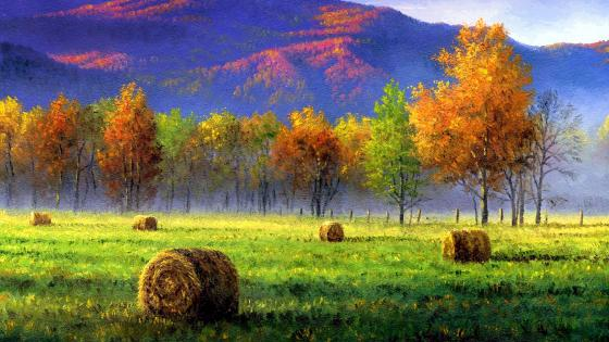 Autumn Painting wallpaper