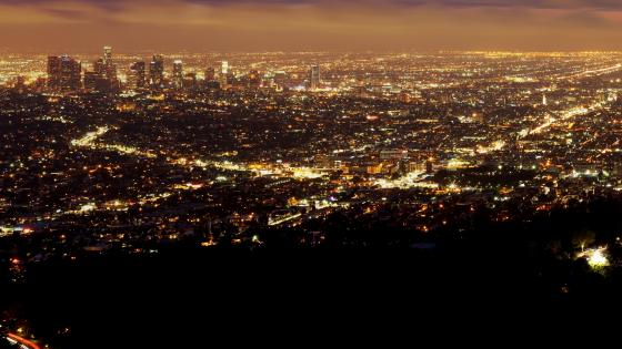 Los Angeles Cityscape wallpaper