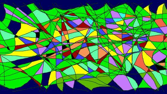 Graphisme coloré wallpaper