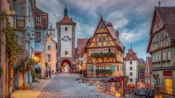 Rothenburg ob der Tauber wallpaper
