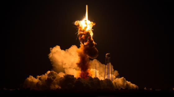 Orbital Sciences Antares Launch wallpaper