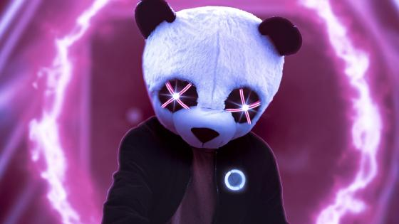 I Love Pandas wallpaper