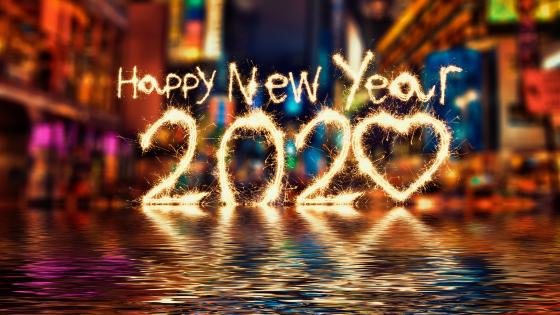 2020 Happy New Year wallpaper