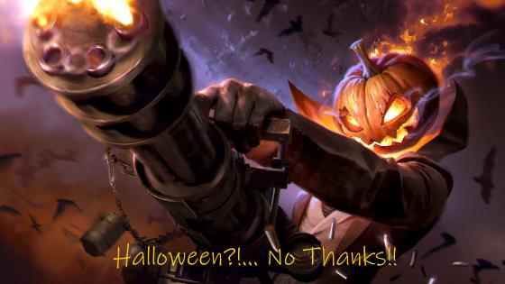 Halloween?!... No Thanks!! wallpaper