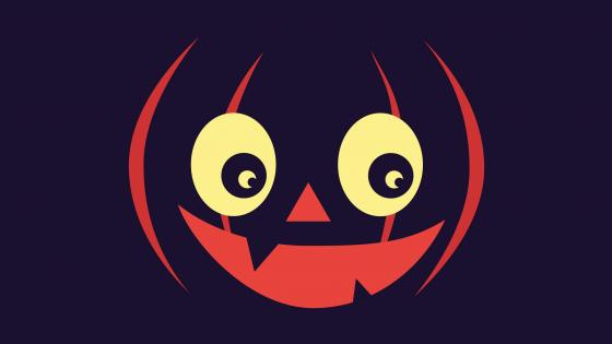 halloween pumpkin face wallpaper
