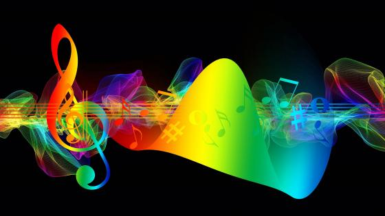 Musical Note Creative Art wallpaper