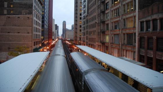 Rapid Transit in Chicago wallpaper