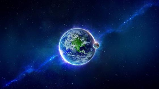 Earth view wallpaper